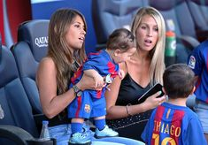 Sofia Balbi, the wife of Luis Suarez, and Antonella Roccuzzo,the wife of Leo… Antonella Roccuzzo, Soccer Fans, Football Players, Anto Roccuzzo, Soccer Couples, Lionel Messi Family, Lional Messi, Lionel Messi Barcelona, Football