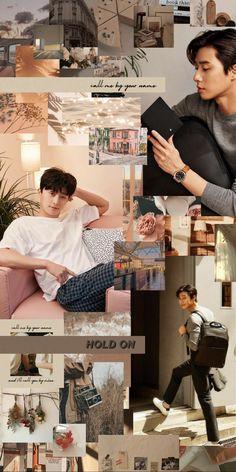 Park Seojoon aesthetic brown collage wallpaper for phone Park Seo Joon Abs, Park Seo Jun, Park Hyungsik Wallpaper, Park Seo Joon Instagram, Baby Park, Korean Drama Best, Hot Korean Guys, Kim Bum, Handsome Korean Actors