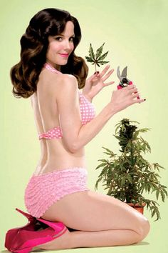 Mary Louise Parker. #Weeds love this show and how pretty she is.