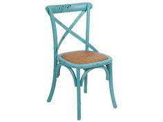 96€ Silla Mol color azul. Medidas 45x42x88 cm. #deco #decoración #muebles #descuento #sillas #silla #Mol #azul #madera #diseño #interiorismo #hogar #casa Deskontalia Planes - Descuentos del 70%. Ofertas .