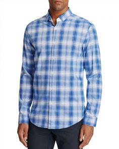 93.75$  Watch now - http://vibtj.justgood.pw/vig/item.php?t=wunmqpv18911 - BOSS Green C-Bilia Plaid Slim Fit Button-Down Shirt