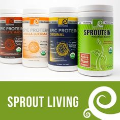 Win @Summer Redwine Living Raw Vegan Sprouted Protein Powder and Snack Box valued at $250! This is SO awesome! I LOVE using these in my smoothies!