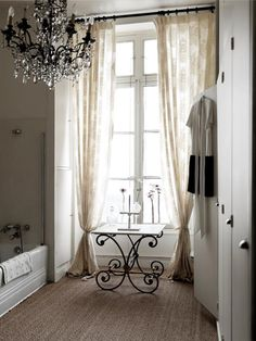 A Parisian Chic Apartment - A fabulous Parisian Apartment to share today. Interior designer Marianne Tiegen brings luxury, glamour and style to this super chic space. Chic Bathrooms, Parisian Chic, French Decor, Beautiful Bathrooms, Glamorous Bathroom, Parisian Bathroom, Bathroom Inspiration, Interior And Exterior, Sweet Home