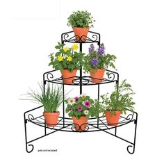 Find Whites Outdoor Corner Heavy Duty Plant Stand at Bunnings Warehouse. Visit your local store for the widest range of garden products. House Plants Decor, Plant Decor, Corner Plant, Wooden Plant Stands, Plant Supports, Flower Stands, Plant Shelves, Garden Landscape Design, Wooden Garden