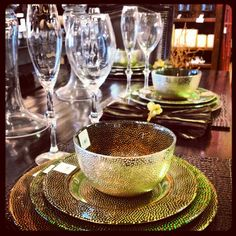 A tablescape that will make you green with envy #zgallerie