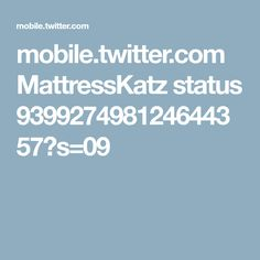 mobile.twitter.com MattressKatz status 939927498124644357?s=09