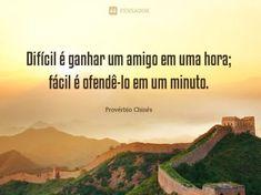 #ProvérbioChinês