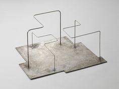 Norbert Kricke Fläche und Raum, 1950 Steel 26,5 x 51 x 43 cm 10 3/7 x 20 1/10 x 16 9/10 in.