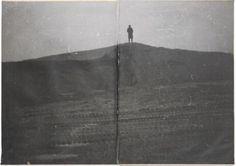 Anselm Kiefer. Siegfried vergißt Brunhilde, 1969 @ galerie Yvan Lambert