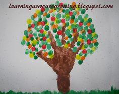 Autumn+Handprint+Tree+-+Learning+As+We+Grow+Fall+Craft+hand+print.jpg (1600×1270)