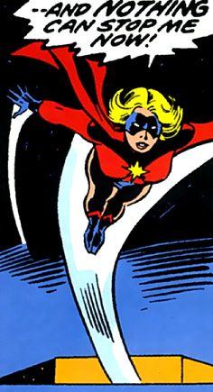 —Ms. Marvel #1 (1977) script by Gerry Conway, art by John Buscema & Joe Sinnott