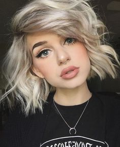 73 Best Stunning and Cutest Nose Septum Ring Nostril Piercing You Should Get ? 73 Best Stunning And Cutest Nose Septum Ring Nostril Piercing You Should Get ? Two Nose Piercings, Piercings For Girls, Septum Piercing Jewelry, Cute Septum Rings, Nose Piercing Ring, Medusa Piercing, Blonde Bob Hairstyles, Hairstyles With Bangs, Cool Hairstyles