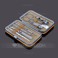 Practical Favors - $11.99 - Rectangular Stainless Steel Manicure Kit (051041466) http://jjshouse.com/Rectangular-Stainless-Steel-Manicure-Kit-051041466-g41466
