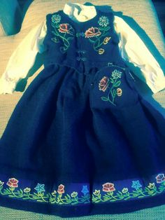 Traditional Dresses, Sewing Crafts, Scandinavian, Rompers, Costumes, Summer Dresses, Norway, Aurora, Fashion