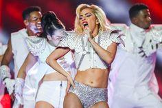 Lady GAGA on Superbowl 2017 beautiful sexy woman awesome performance you go Gaga luv u girl