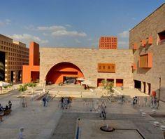 CAMPUS CENTER, UNIVERSIDAD AMERICANA EN EL CAIRO by Ricardo Legorreta