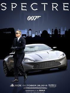 Bond with His Aston Martin DB10 #DB10 #jamesbond #007 #Spectre #BondLifeStyle #Style2