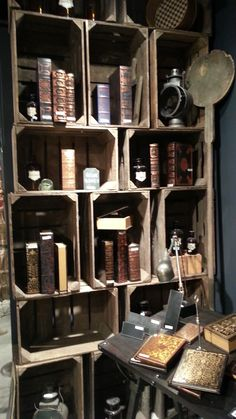 crate shelving