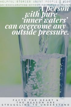 Spring Life Water – a Symbol of All That Is Harmonious and Good: 5 Almost Occult Facts About Natural Water Structured Water, Motivational Stories, Reading Stories, Cosmetic Companies, Love, Self Improvement, Vulnerability, Countries, Composition