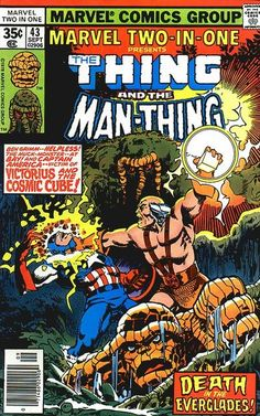 Marvel Two-In-One #43 (1974 series) - cover by John Byrne
