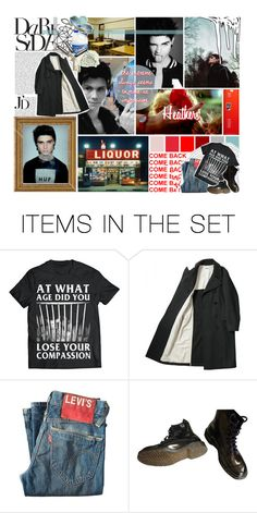 """⚛️//Happiness comes when everything numbs ; Who needs co.caine? Freeze your brain//⚛️"" by annabethpercy ❤ liked on Polyvore featuring art and icandoitbetter01"