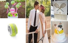 tennis wedding... this is the most amazing idea i've ever seen