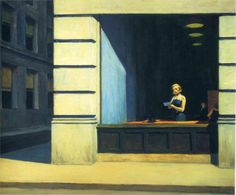 Page: New York Office Artist: Edward Hopper Completion Date: 1962 Style: New Realism Genre: cityscape Technique: oil Material: canvas Dimens...