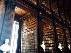 Trinity College, Dublin Throwback to spring quarter, when I studied abroad in Vienna. On my way back to states, I went to my grandmother's old house in Ireland, out in County Kerry, on the Dingle Peninsula. I also got to spend some time in Dublin,...