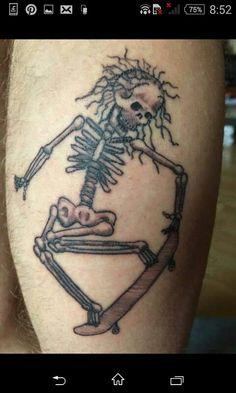 Skating skeleton