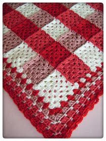 Crochet: Gingham Afghan.