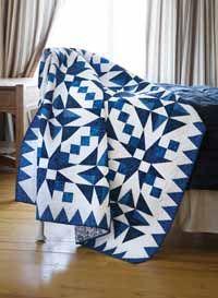 Electric Blue Quilt Kit