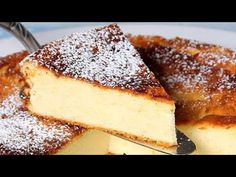 Prăjitură tradițională germană~ cu brânză si fără aluat | Käsekuchen - YouTube Easter Pie, No Cook Desserts, Banana Bread, French Toast, Cheesecake, Food And Drink, Cooking Recipes, Vegan, Cookies