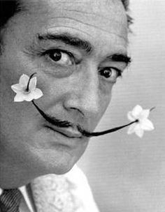 Dali, of course i wouldn't leave him out! Flower moustache was by far my favourite! #movember