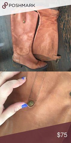 "Selling this Sam Edelman ""Penny"" Riding Boots on Poshmark! My username is: parkerroberts. #shopmycloset #poshmark #fashion #shopping #style #forsale #Sam Edelman #Shoes"