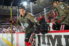Andrew Shaw #65 #VeteransDay