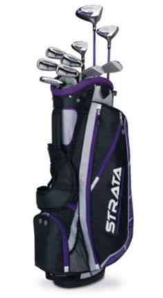 BEST WOMEN'S GOLF CLUBS- Callaway Strata Plus Complete Golf Club Set with Bag (14-Piece) Reviews by Boldlist.net