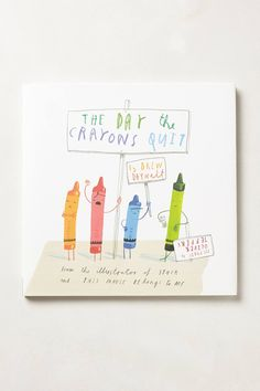 The Day The Crayons Quit - anthropologie.com
