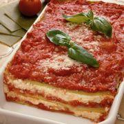 Lasagne met gegrilde paprika