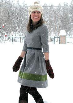 patron gratuit : la robe garden party