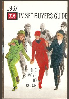 1967 TV Set buyers guide - the move to colour