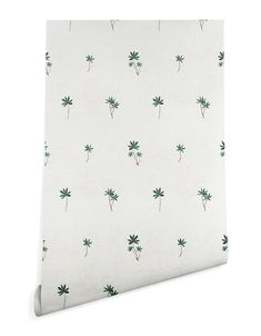 Removable Palm Tree Wallpaper | Little Crown Interiors