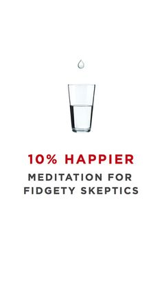 iPhone Screenshot -- Dan Harris, ABC news anchor discusses mindfulness for fidgety skeptics.