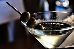 Vodka Martini. Shaken not stirred.