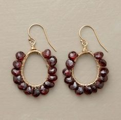 98.00 original  79.99 sale This I can do. 2 earring loops, matching wire, gems of choice.
