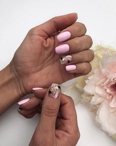 Long Nails Art Design Ideas in Fall & Winter Funky Nail Designs, Gold Nail Designs, French Nail Designs, French Manicure Acrylic Nails, Gold Nails, Cute Nails, Pretty Nails, Manicure E Pedicure, Spring Nails