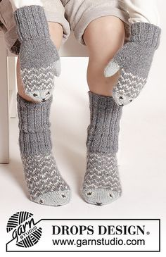 Ravelry: 0-1216 Mr. Fish Mittens pattern by DROPS design