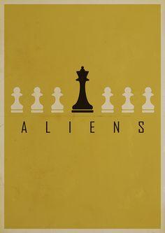 Alternative Alien Posters