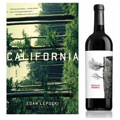 Le livre : California de Edan Lepucki, publié par Little, Brown & Co (USA). Design : Julianna Lee.  Le vin : Finca el Maldito 2012, produit par Terra d'Art (Espagne). Design : Juan Martinez.  —————  The book : California by Edan Lepucki, published by Little, Brown & Co (USA). Design : Julianna Lee.  The wine : Finca el Maldito 2012, produced by Terra d'Art (Spain). Design : Juan Martinez.