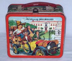 The Beverly Hillbillies Lunch Box Antique Lunchbox, Aladdin Vintage Metal Lunchboxes) Retro Lunch Boxes, Lunch Box Thermos, Cool Lunch Boxes, Metal Lunch Box, Retro Toys, Vintage Toys, The Beverly Hillbillies, School Lunch Box, Whats For Lunch