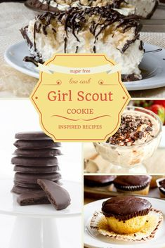 12 Low Carb Gluten Free Girl Scout Inspired Recipes! THM, Keto, Atkins, LCHF